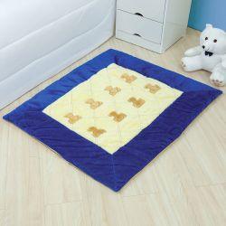 Tapete Teddy Azul Marinho 1,10m