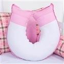 Almofada para Amamentação Ursinho Luxo Rosa