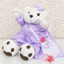 Ursa Porta Chupeta Lola