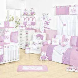 Quarto para Bebê Realeza Rosa