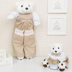 Ursos Porta Treco Teddy Cáqui
