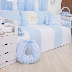 Kit Cama Babá Príncipe Azul