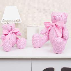 Ursas Listradas Rosa