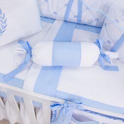 Almofada Apoio Bala Realeza Azul 62cm