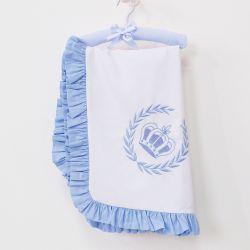Manta Realeza Azul