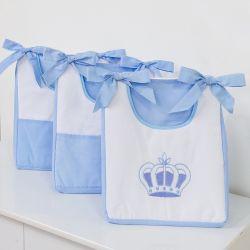 Porta Fraldas Varão Realeza Azul