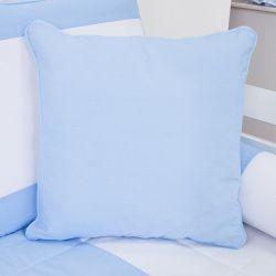 Almofada Lisa Realeza Azul 43cm