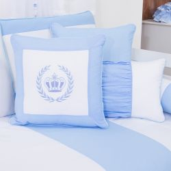 Almofadas Realeza Azul 3 Peças