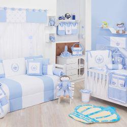 Quarto de Bebê Realeza Azul