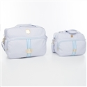 Conjunto de Bolsas Maternidade Prince Realeza Azul