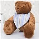 Urso Bandana Listrada Azul M