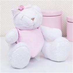 Urso Bandana Rosa P