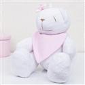 Urso Bandana Rosa M