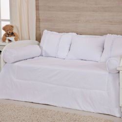 Kit Cama Babá White
