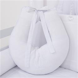 Almofada para Amamentação Realeza Branco