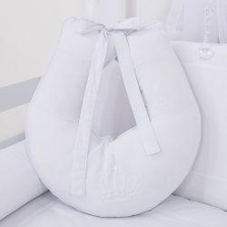 Almofada Amamentação Realeza Branco