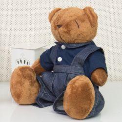 Urso Jardineiro 34cm