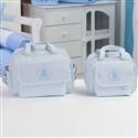 Conjunto de Bolsas Maternidade Urso Imperial Azul