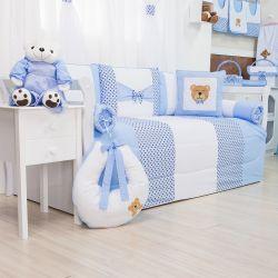 Kit Cama Babá Soninho Azul