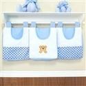 Porta Fraldas Varão Soninho Azul