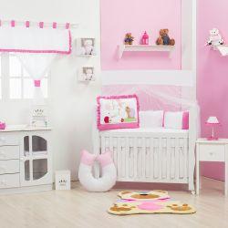 Quarto de Bebê sem Cama Babá Caracol Pink