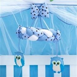 Móbile Corujinha Azul