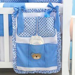 Porta Treco Família Urso Azul