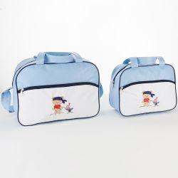 Conjunto de Bolsas Maternidade Navy