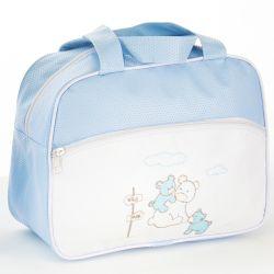 Frasqueira Maternidade Amiguinhos da Alegria Azul 30cm