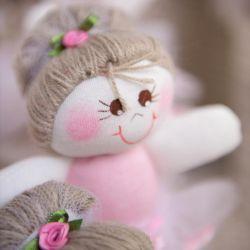 Lembrancinha Maternidade Bonequinha Bailarina Rosa