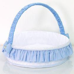 Cesta Marina Azul Bebê