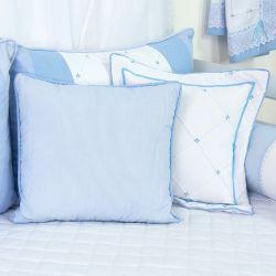 Almofadas Marina Azul Bebê 3 Peças