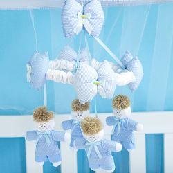 Móbile Marina Azul Bebê