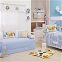 Quarto para Bebê Floresta Azul