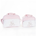 Conjunto de Bolsas Maternidade Amiguxos Rosa