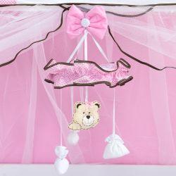 Móbile Família Urso Rosa