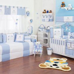 Quarto de Bebê Família Urso Azul