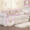 Kit Cama Babá Dupla Face Royal Rosa