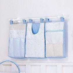 Porta Fraldas Varão Guto Azul Bebê