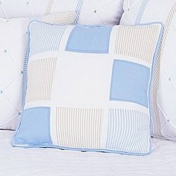 Almofada Decorativa Quadros Guto Azul Bebê 45cm