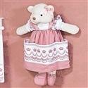 Porta Fraldas Ursa Elegance Rosé