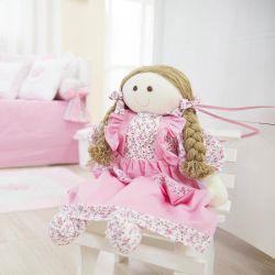 Porta Fraldas Boneca Minha Princesa Floral