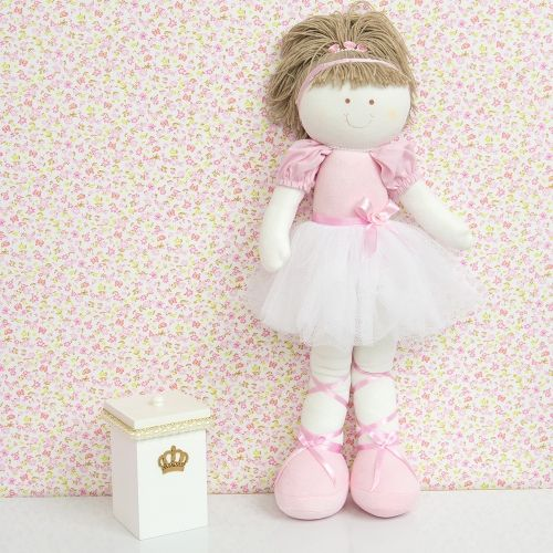 Boneca 52cm Bailarina Bella