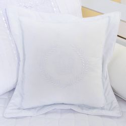 Almofada Decorativa Coroa Doçura Branco 45cm