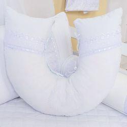Almofada Amamentação Doçura Branco