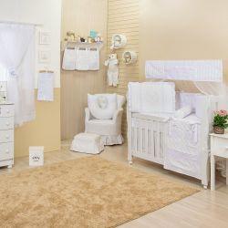 Quarto de Bebê sem Cama Babá Doçura Branco