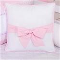 Almofada Decorativa Laço Sonhare Rosa