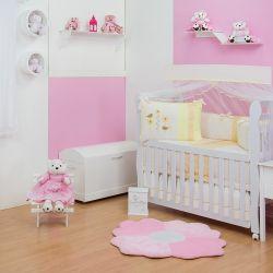 Quarto para Bebê sem Cama Babá Passarinha Lili