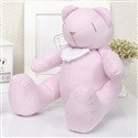 Urso Chambrê Rosa com Babador M