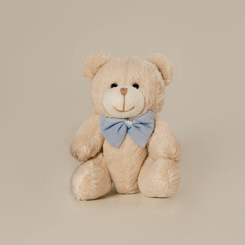 Urso Palha com Gravata 14cm